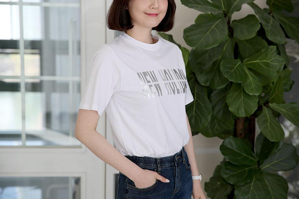 티셔츠의 신축성은 기본^^