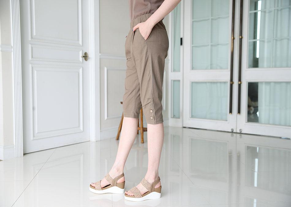 무릎을 덮어주는 6부정도의 기장감~